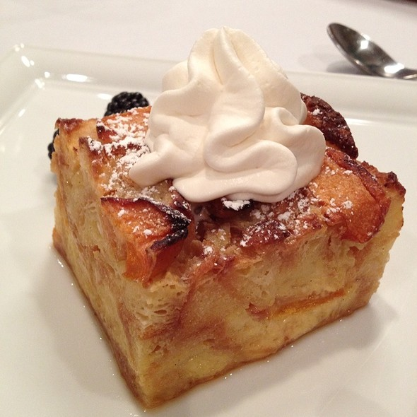 Apricot Bread Pudding  - Preston's at Loews Hollywood Hotel, Hollywood, CA