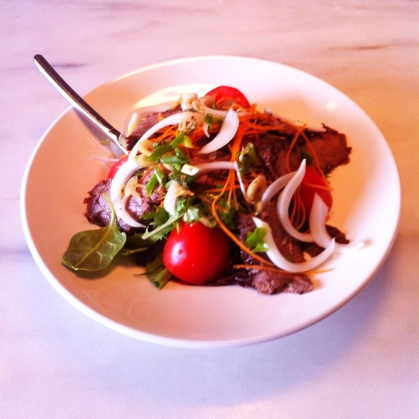 Grilled Thai Beef Salad - Asian Mint | Highland Park, Dallas, TX