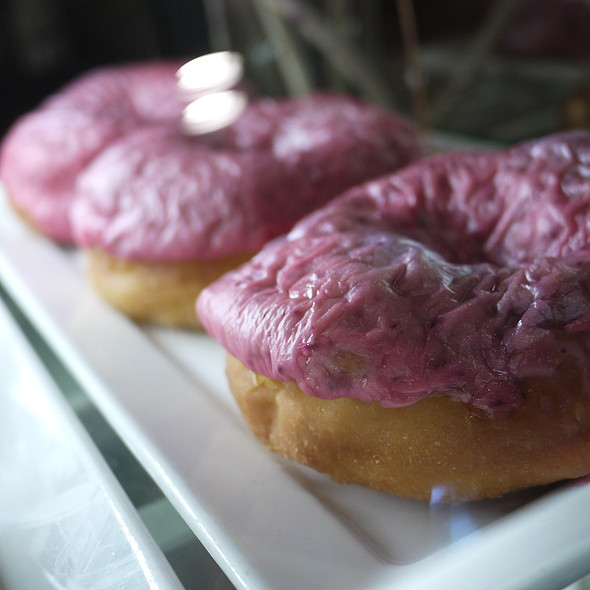 Raspberry Icing Donuts - Cascades - The Stanley Hotel, Estes Park, CO