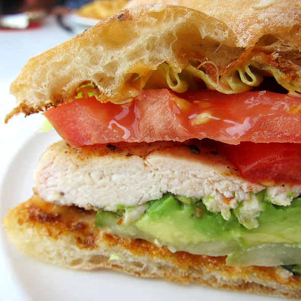Grilled Chicken Sandwich - POV at the W Hotel Washington DC, Washington, DC