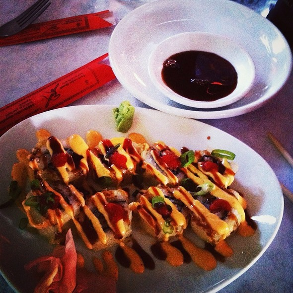 Godzilla roll - Kanpai - Sushi Asian Bistro, Evansville, IN