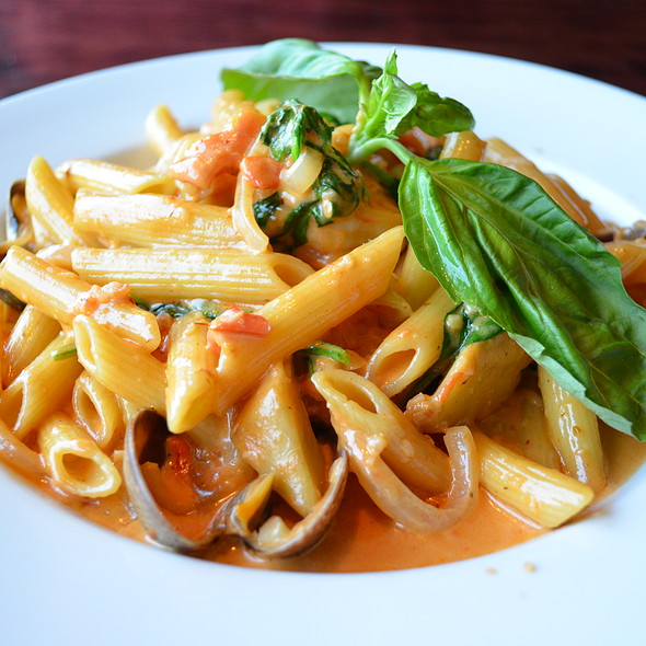Grotto Seafood Pasta - Old Fisherman's Grotto, Monterey, CA