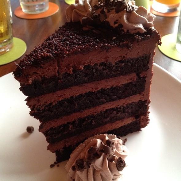 Chocolate Cake - Tommy Bahama Restaurant & Bar - Mauna Lani, Big Island, Kamuela, HI