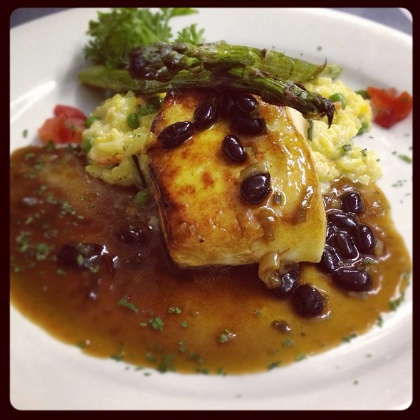 Wild East Coast Halibut - Sammy's Downtown Bistro, Bronxville, NY