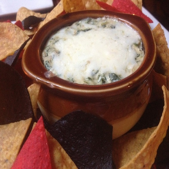 Spinach & Artichoke Dip - The Uptown Restaurant, New York, NY