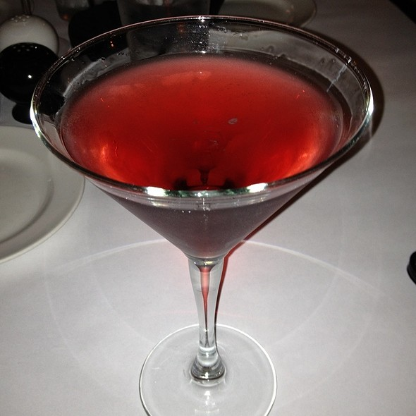 Black Tie Tini - J. Liu Restaurant & Bar of Dublin, Dublin, OH