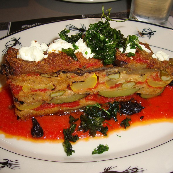 "Veggie ""Meat""Loaf - Steelhead Diner, Seattle, WA"