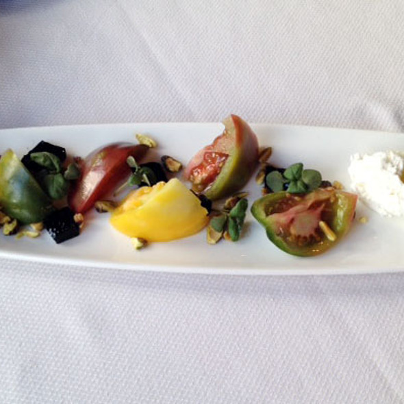 Heirloom Tomato Salad - The Glitretind Restaurant at Stein Eriksen Lodge, Park City, UT