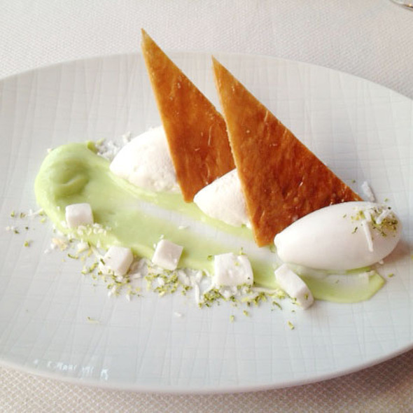 Key Lime Pie - The Glitretind Restaurant at Stein Eriksen Lodge, Park City, UT