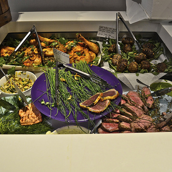 buffet - Ottolenghi Islington, London