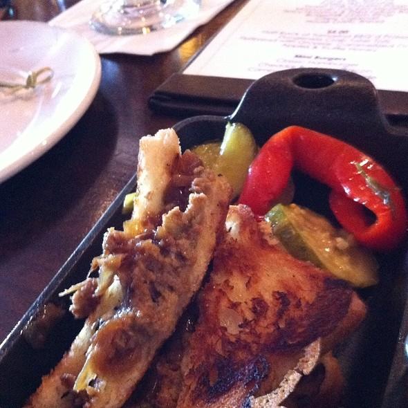 Prime Meatloaf Slider - Stark's Steakhouse, Santa Rosa, CA