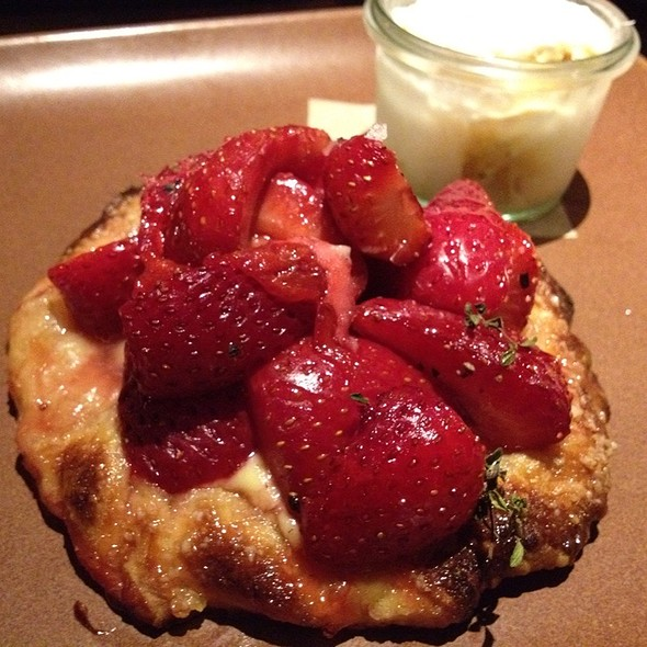 Strawberry Ricotta Croatata - Tar & Roses, Santa Monica, CA