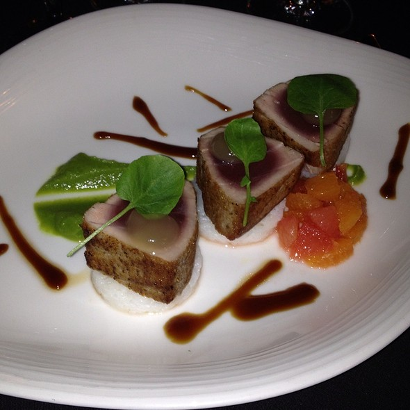 Yellowtail Tuna - The Peacock Inn, Princeton, NJ