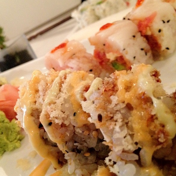 Crazy Winter Maki - Friends Sushi on Rush, Chicago, IL