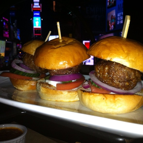 Lamb Sliders - R Lounge at Two Times Square, New York, NY