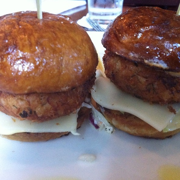Crab Cake Sliders - Seasons - Davis, Davis, CA