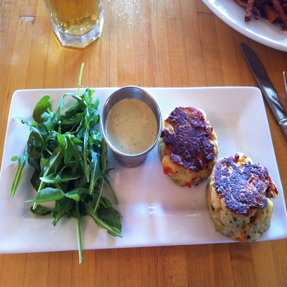 Lobster Cakes - Hurricane Restaurant - Kennebunkport, Kennebunkport, ME