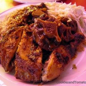 Jerk Chicken - The Real Jerk Restaurant, Toronto, ON