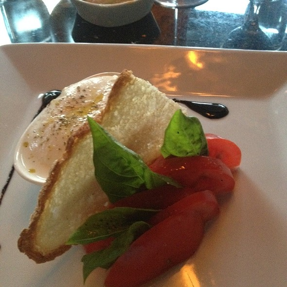 Heirloom Tomatoes And Buratta Cheese - Gennaro's 5 North Square, Boston, MA