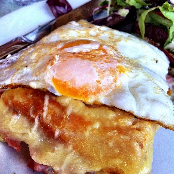 Croque Madame - Champignon, New York, NY