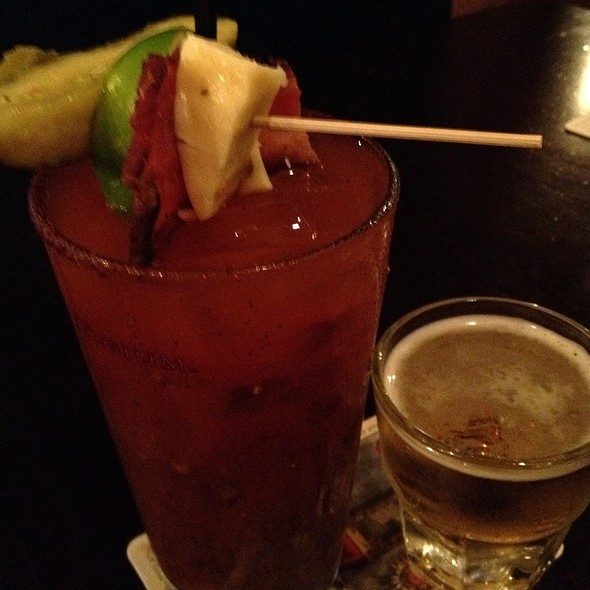Spicy Bloody Mary - Lyndale Tap House, Minneapolis, MN