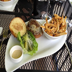 The Farmer Burger - Bistro Blanc, Glenelg, MD
