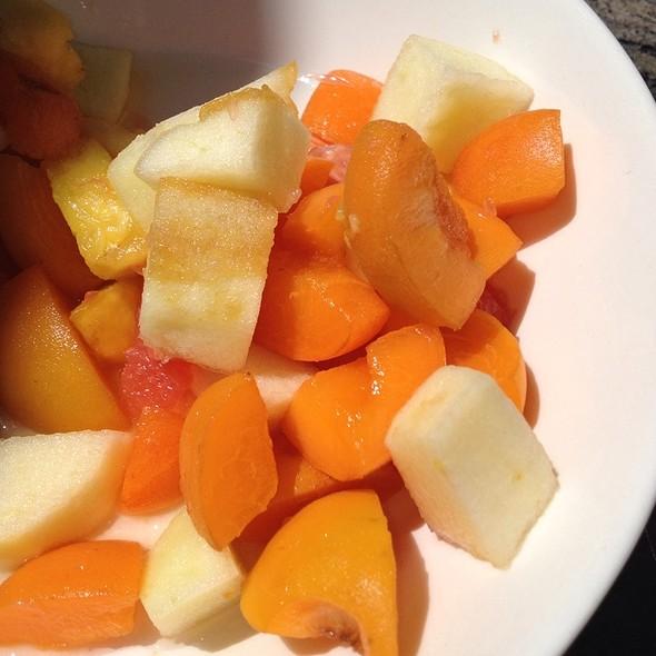 Fresh fruit salad - C'era Una Volta, Alameda, CA