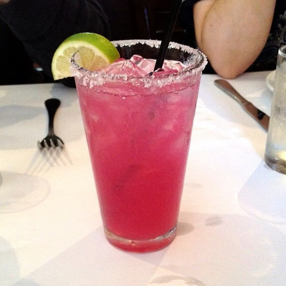 prickly pear margarita - The Peasant & The Pear, Danville, CA