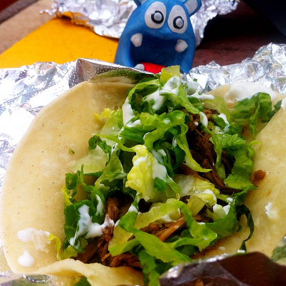 Barbacoa Soft Shell Tacos - La Sandia, McLean, VA