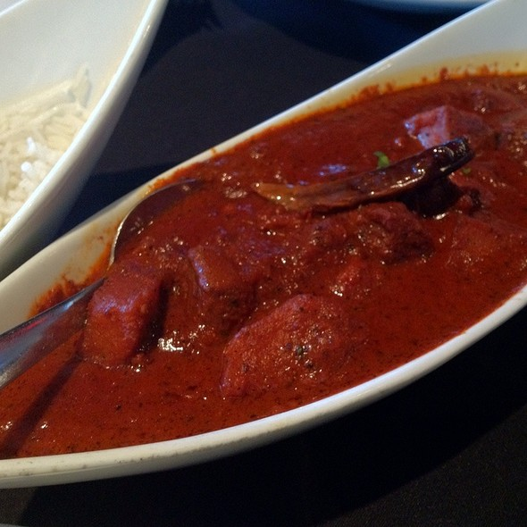 Lamb Vindaloo - Raaga, Chapel Hill, NC