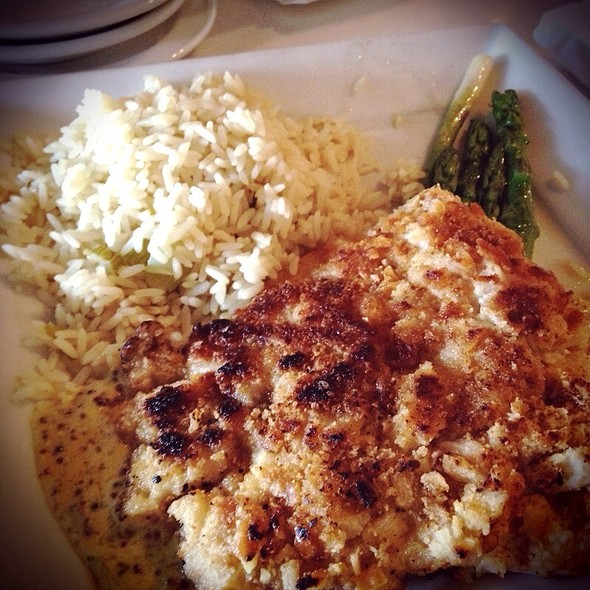 Pretzel Encrusted Snapper - Waterway Cafe, Palm Beach Gardens, FL