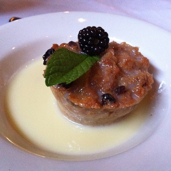 Bread Pudding - Myron's at Alon Town Center, San Antonio, TX