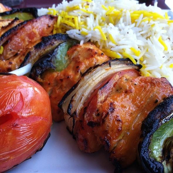 Chicken Shish Kebab - Rumi's Persian Cuisine, Corona, CA