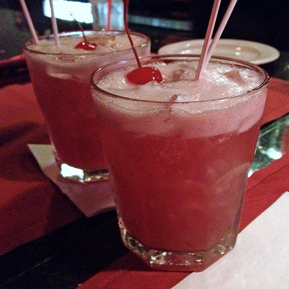 Purple Hooter Cocktail - Golden Spur Restaurant, Glendora, CA