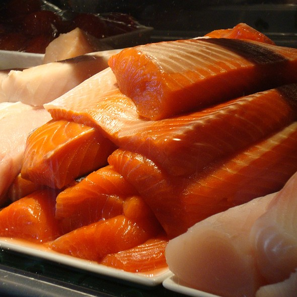 Fresh Sockeye Salmon - Japonessa Sushi Cocina, Seattle, WA