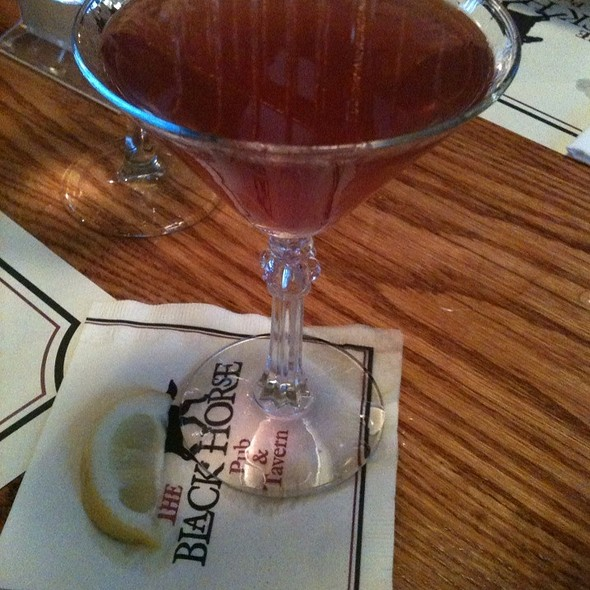 Javier's Twist Cocktail - The Black Horse Tavern, Mendham, NJ