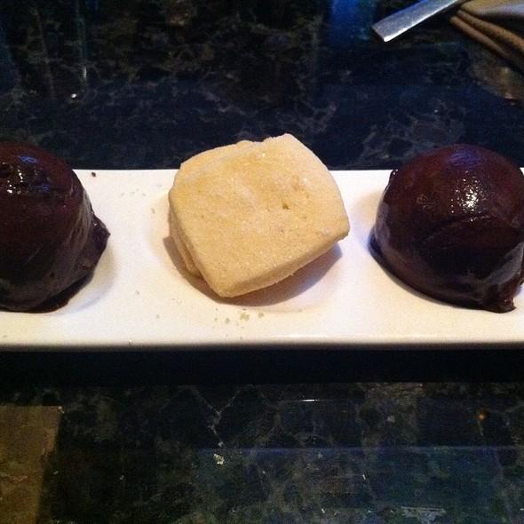 Chocolate Mint Sorbet - EDGE Restaurant & Bar, Denver, CO