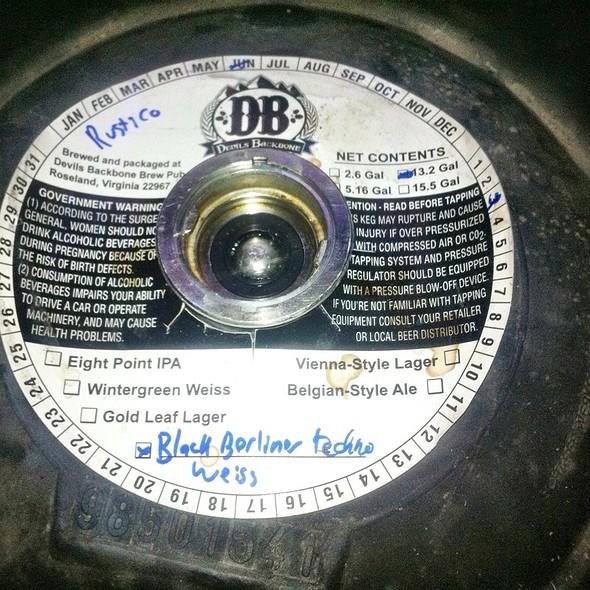 Keg Of Beer - Rustico - Ballston, Arlington, VA