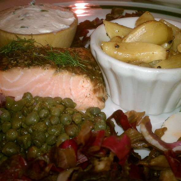 House Smoked Salmon - The Classic Cafe at Roanoke, Roanoke, TX