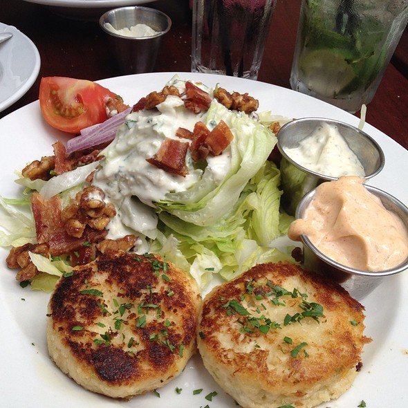 Crab Cakes With Iceberg Wedge - ROCK'N FISH - Manhattan Beach, Manhattan Beach, CA