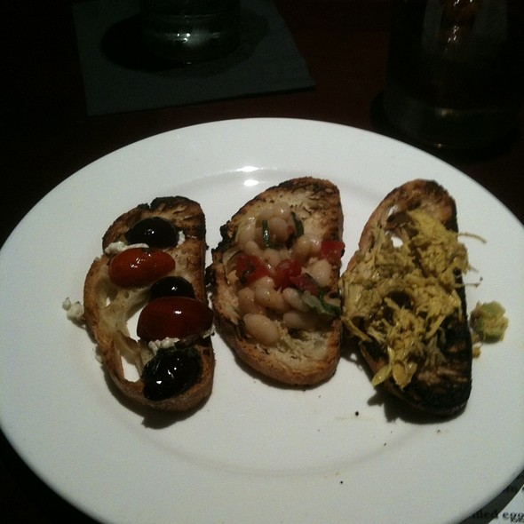 Bruschetta Trio - 4 Olives Restaurant, Manhattan, KS