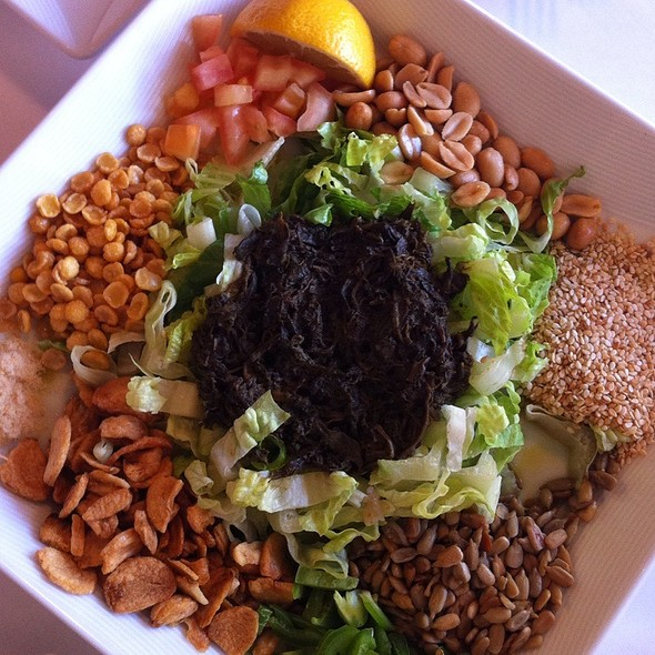 Burmese Tea Leaf Salad - Rangoon Ruby Burmese Cuisine - Palo Alto, Palo Alto, CA