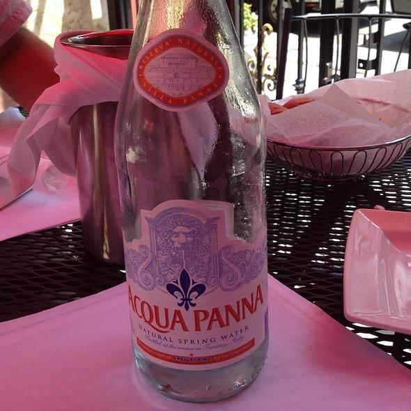 Acqua Panna Spring Water  - Ristorante Fiore, Boston, MA