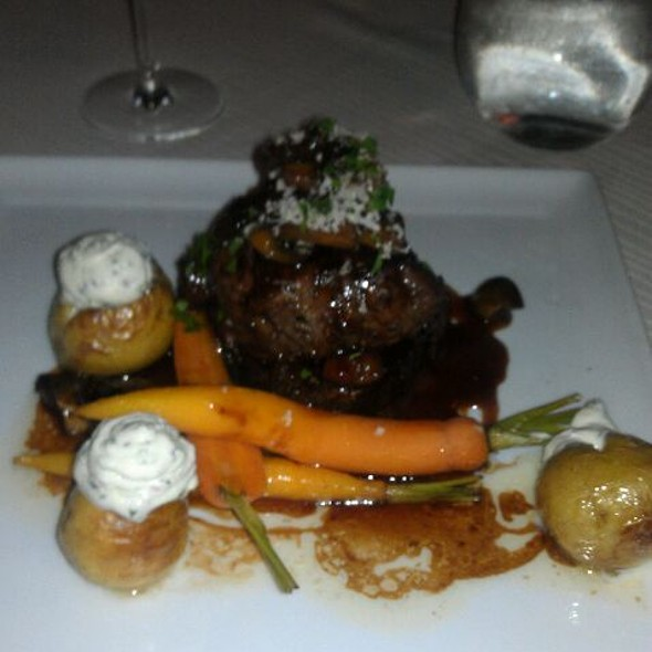 Beef Tenderloin And Potatoes - Charleston Grill, Charleston, SC