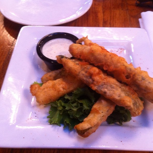 Deep Fried Pickles - Twisted Fork - Old Market, Omaha, NE