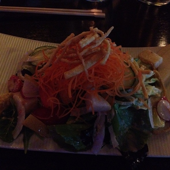 ginger salad  - Tien - Teppanyaki / Shabu Shabu, Biloxi, MS