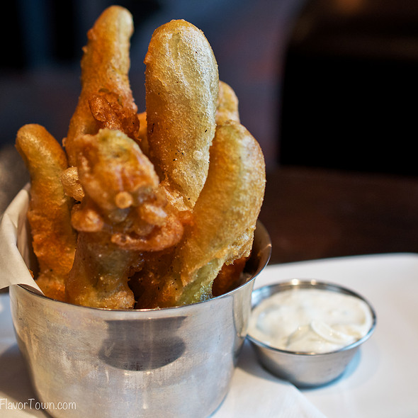 Deep Fried Pickles - Yaletown Brewing Company, Vancouver, BC