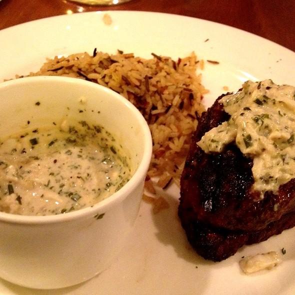 Sirloin Crab Bleu - Windjammer Restaurant, South Burlington, VT