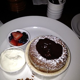 Chocolate Souffle - Old Hickory Steakhouse-Gaylord Palms Resort, Kissimmee, FL