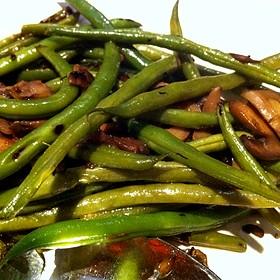 Sauteed Green Beans - Fleming's Steakhouse - La Jolla, San Diego, CA